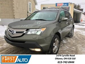 2007 Acura MDX 7 Pass. - NO ACCIDENTS! - DVD/FULLY LOADED
