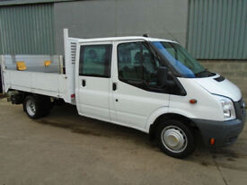 Ford Transit 350 2.4TDCi crew cab drop side 2010 60 reg
