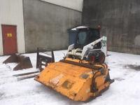 1999 Bobcat 751 loader/dumper