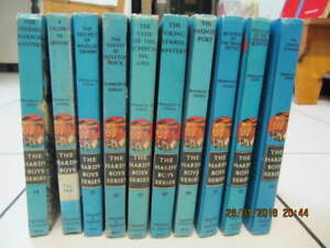 Classic 10pc Lot Of The Hardy Boys Series Books 1950s-1970s