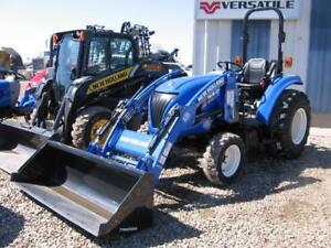 2015 NEW HOLLAND BOOMER 37 HYDROSTATIC TRACTOR