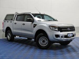 2014 Ford Ranger PX XL 2.2 HI-Rider (4x2) Silver 6 Speed Automatic Crew Cab P/Up Jandakot Cockburn Area Preview