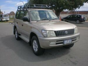 2001 Toyota Landcruiser FZJ105R GXL (4x4) Bronze 4 Speed Automatic 4x4 Wagon Victoria Park Victoria Park Area Preview