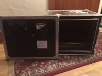 ROAD CASE 8 SPACE RACK GREAT CONDITION