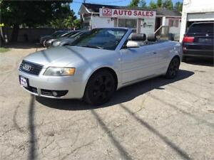 2003 Audi A4 Convertible/Automatic/Leather/Bluetooth/Certified