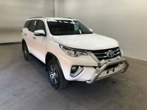 2016 Toyota Fortuner GUN156R GXL Glacier White 6 Speed Automatic Wagon Bohle Townsville City Preview
