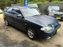 1999 Hyundai Excel X3 Sprint Blue 5 Speed Manual Hatchback Jewells Lake Macquarie Area Preview