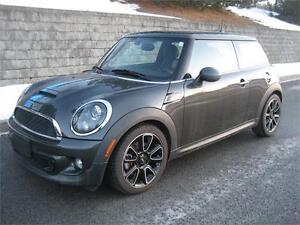 2012 MINI COOPER S BAYSWATER (MAN., CUIR, TOIT PANO, AIR, FULL!)