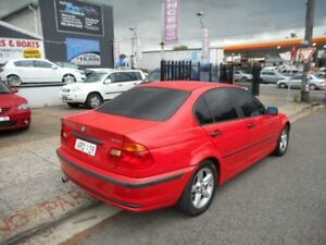 1998 BMW 318I E46 Red 4 Speed Automatic Sedan Croydon Burwood Area Preview