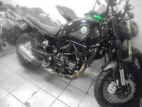BENELLI LEONCINO 500 TRIALS IN BLACK 2020 WITH ONLY 10 MILES