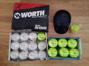 Brand New Softballs + Bags + Tee - DEAL OF THE CENTURY!!!