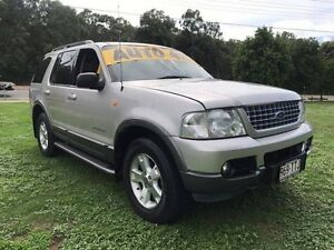 2004 Ford Explorer UZ XLT (4x4) Silver 5 Speed Automatic Wagon Clontarf Redcliffe Area Preview