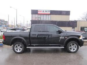 2017 Ram 1500 Express 4WD Crew Cab Limited Edition Alum Covers