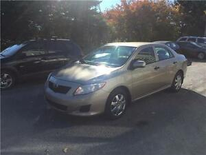 2009 Toyota Corolla CE, Safety & ETEST for ON or QC INCL.