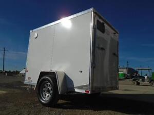 5x8 LIGHT WEIGHT NEO - EASY TO TOW - GREAT ALUMINUM TRAILER! London Ontario image 8