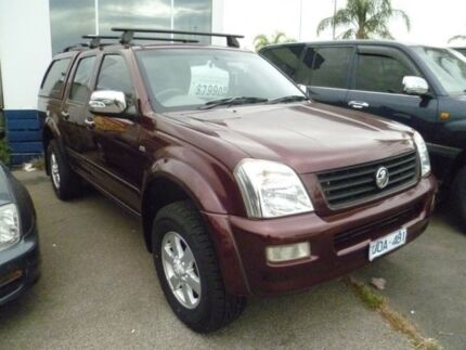 2006 Holden Rodeo RA MY06 LT Crew Cab 4x2 Red 4 Speed Automatic Utility Heatherton Kingston Area Preview