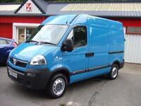 Vauxhall Movano 2.5CDTI 16v 100ps SWB 3300 High Roof Van Renault Master Air Con