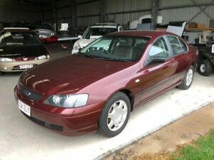 2003 Ford Falcon BA XT Burgundy 4 Speed Auto Seq Sportshift Sedan Applethorpe Southern Downs Preview