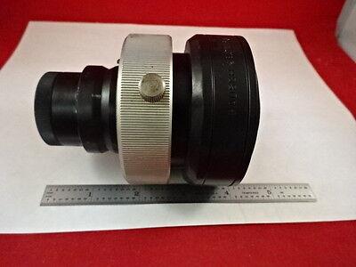 Microscope Part Bausch Lomb Shutter Photo Tube Optics As Is Bt3-g-05