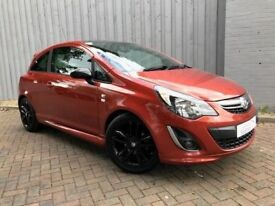Vauxhall Corsa 1.3 CDTI Limited Edition, Scarce Diesel Version, Very Low 33,000 Miles, Chilli Orange