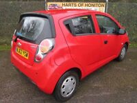 Chevrolet Spark 1.0 + 5DR (red) 2012