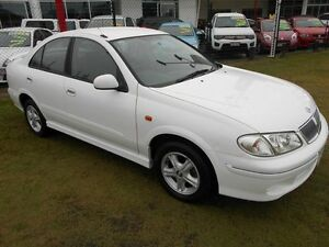 2000 Nissan Pulsar N16 Q White 4 Speed Automatic Sedan Kippa-ring Redcliffe Area Preview
