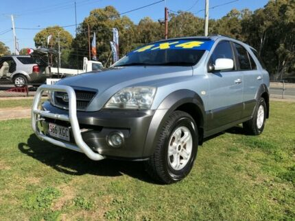 2005 Kia Sorento BL 05 Upgrade Silver 5 Speed Tiptronic Wagon Clontarf Redcliffe Area Preview