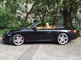 Porsche 911 Carrera S Convertible Auto 3.8 (997)