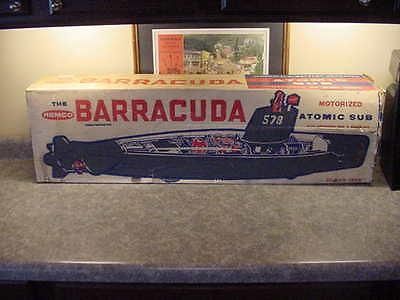 Remco Barracuda Sub Submarine 1962