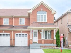 Semi-Detach House Available At High Demand Area Of Brampton
