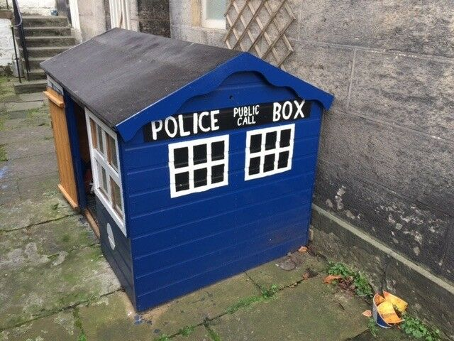 childrens dr who playhouse or garden shed - Garden Sheds Edinburgh