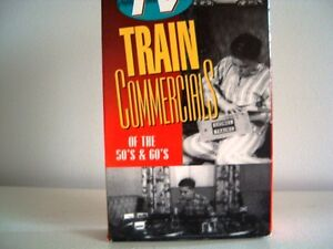 Classic TV Train Commercials of the 1950's 1960's on VHS