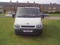 ford transit swb 2002 white for sale £650 7mnths mot tatty, so cheap