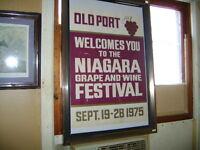 1975  NIAGARA GRAPE & WINE FESTIVAL POSTER