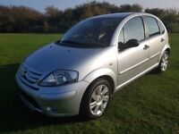 2008 CITROEN C3 1.6HDI DIESEL EXCLUSIVE £30 YEAR ROAD TAX, SERVICE HISTORY