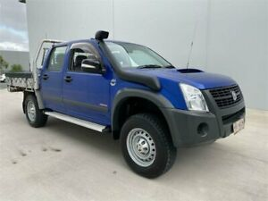2008 Holden Rodeo RA MY08 LX (4x4) Blue 5 Speed Manual Crew Cab Chassis