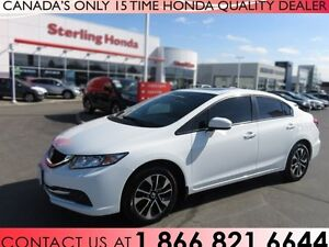 2015 Honda Civic EX | TINT | ACCIDENT FREE | ALL WEATHER MATS!