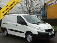 2013/ 63 Peugeot Expert 1.6HDi 90 L2 H1 Lwb panel van T/SLD Low Mileage