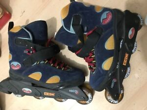 ~Like New~Mission CCM Roller Blade inline skate sizes 7 to 11  f