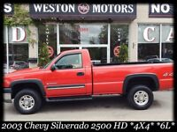 2003 Chevrolet Silverado 2500HD 4X4* 6L* LONG BOX* TOW PKG