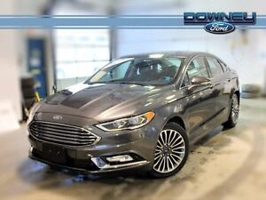 2017 Ford Fusion SE AWD LEATHER HEATED SEATS GPS BACKUP CAMERA P