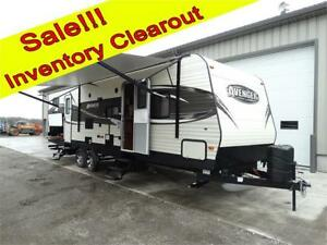 Clearout Sale! 30 foot bunkhouse RV trailer