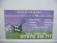 "CHRIS""S GARDENING MAINTENENCE"