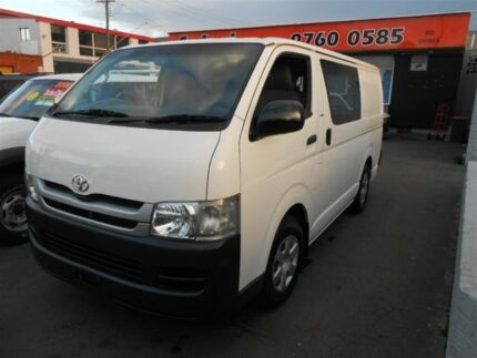 2008 Toyota Hiace KDH201R MY07 Upgrade LWB White 4 Speed Automatic Van Clyde Parramatta Area Preview