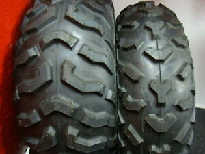 Honda TRX420PGC Maxxis M978 and M977 Tires on Rims Windsor Region Ontario image 4