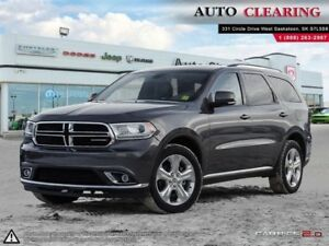 2014 Dodge Durango Limited/GOLD PLAN WARR/SASK TAX PAID
