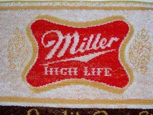 Bar Mats Miller Highlife Terry Cloth NEW 10 total Cambridge Kitchener Area image 2