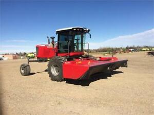 Used 2012 Massey Ferguson WR9770 Windrower / Swather