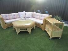 4 piece large corner cane lounge suite + coffee table, exc cond Woodlands Stirling Area Preview