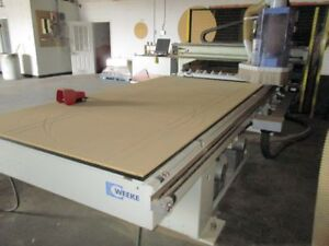 2012 WEEKE - VANTECH 510 CNC ROUTER with Boring - Only 3400hrs